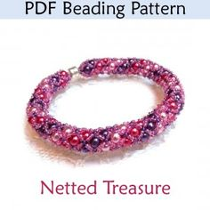 Netted Treasure Beading Pattern