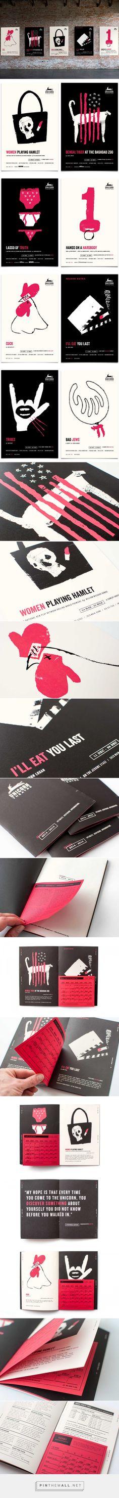 Unicorn Theatre Branding by Design Ranch | Fivestar Branding – Design and Branding Agency & Inspiration Gallery