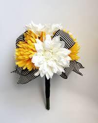 ribbon yellow white stripe - Google Search