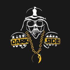 Awesome 'Dark+Side+is+Swag' design on TeePublic!