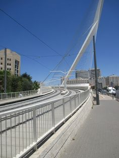 A Jewish Grandmother : Enjoyable Walk on Jerusalem String Bridge