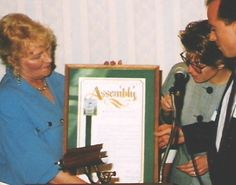 I won an honorary resolution from the California State Senate and Assembly for active community service during my newspaper career.