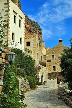 Greece Travel Inspiration - This is my Greece | Monemvasia in Laconia located on a small island off the east coast of the Peloponnese