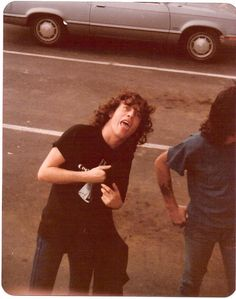 Angus Young, AC/DC, SPRINGFIELD 18 MAI 79
