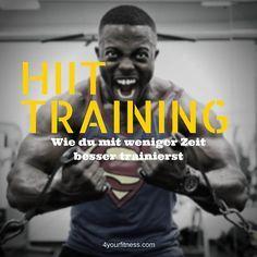 In diesem Artikel erfährst du, was HIIT Training ist, warum es so effektiv ist und wie du es in der Praxis ins Training einbauen kannst - inkl. Workouts.