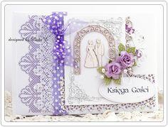 wedding guest book handmade