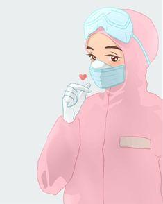 Nurse Drawing, Doctor Drawing, Cartoon Girl Drawing, Nurse Pics, Girl Doctor, Medical Wallpaper, Nurse Art, Islamic Cartoon, Cute Nurse