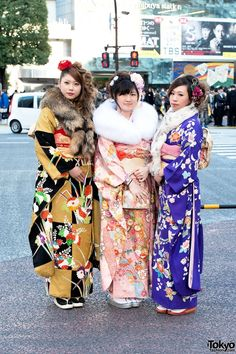 Coming of Age Day Kimono in Japan (46)
