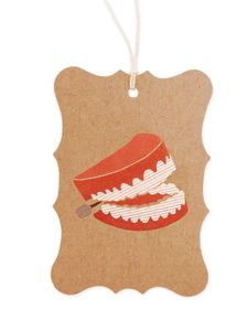 Chompers Gift Tags by Ask Alice - set of 6 $15.00