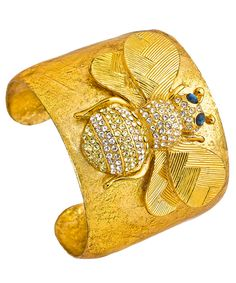 Evocateur Bumble Bee Cuff #statementjewelry