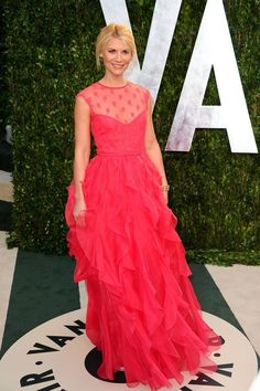 Claire Danes at the 2012 Vanity Fair Oscars Afterparty