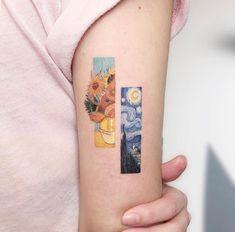 Eden Kozo is a tattoo artist from Qiryat Ono, Israel. Eden Kozo is a tattoo artist from Qiryat Ono, Israel. Lana tonettemarcos Tattoos And Body Art Tattooist Eden Kozo. Van Gogh Tattoo, Mini Tattoos, Body Art Tattoos, Tatoos, Sleeve Tattoos, Tattoo Ink, Cherry Tattoos, Tattoo Sleeves, Lace Tattoo
