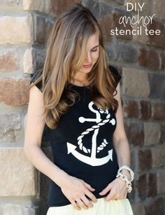 Everyday Reading: DIY Anchor Shirt
