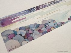 What's Yet To Be ~ Original Watercolor by Shell Rummel ©Michelle Rummel