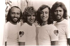 the bee gees and peter frampton
