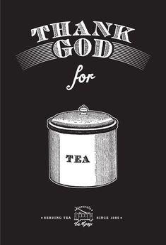 Tearoom promotional posters by Dimis Giannakoulias, via Behance