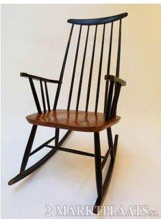 Marktplaats.nl > Vintage Tapiovaara schommelstoel - Huis en Inrichting - Stoelen
