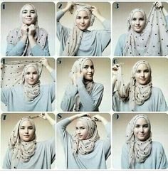 Style your hijab :)