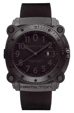 aac3866c4 See more. Hamilton BeLOWZERO 1000M AUTO Watches For Men, Rolex Watches,  Hamilton Khaki Navy, Automatic