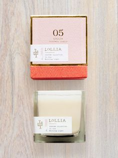 Shop Lollia's Poetic License Candle Boutiquerie and Perfumed Luminaries to infuse your home with modern romantic luxury. These beautifully designed candles gently transform a space into a warm, inviting, elegantly perfumed environment. Candle Packaging, Print Packaging, Box Packaging, Design Packaging, Jewelry Packaging, Candle Branding, Candle Labels, Luxury Packaging, Beauty Packaging