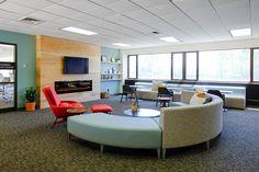 Coalesse Circa Lounge in the Urban Church Leadership Center in Grand Rapids
