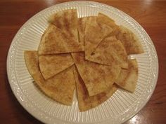 All Natural Recipes: Baked Cinnamon Chips - Feingold Stage 1