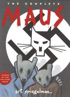 Kniha: The Complete MAUS (Art Spiegelman) (Paperback)(Art Spiegelman) za Maus Art Spiegelman, Nazi Propaganda, Good Books, Books To Read, My Books, Free Books, Dia Do Reporter, Surfer D'argent, Comic Shop