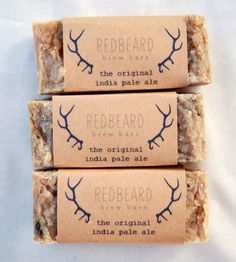 IPA Soap – Pack of 3 | Men's Grooming | Redbeard Brew Bars | Scoutmob Shoppe | Product Detail