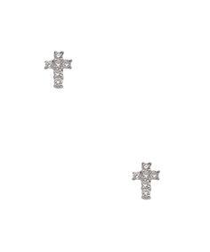 Kc Designs Mini Diamond Cross Stud Earrings Price 425 00 Square Rings