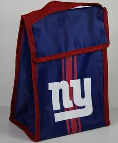 NFL New York Giants Velcro Lunch Bag by Forever Collectibles. $7.35. New York Giants Velcro Lunch Bag. New York Giants Velcro Lunch Bag. Save 27% Off!