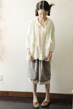 Woodland Shadows, mori girl clothes, fashion