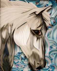 *QUILLING ~ Horse - Paper Quilling on Behance