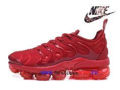 new concept 53f40 0c2f2 Nike Air VaporMax Plus Chaussures Nike TN 2018 Pas Cher Pour Cher Homme  Rouge AO4550-ID7