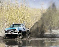 Chevy's & mud