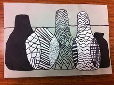 Drip, Drip, Splatter Splash: Overlapping Vases