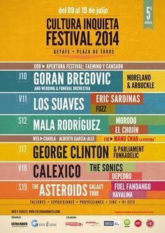 Concierto de Los Suaves + Eric Sardinas + Fuzz en el Festival Cultura Inquieta Getafe 2014