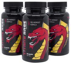Titan's Rage to produkt składający się jedynie z naturalnych składników. Tauryna, kofeina czy chlorella zapewniają ogromną dawkę energii podczas każdego z treningów.