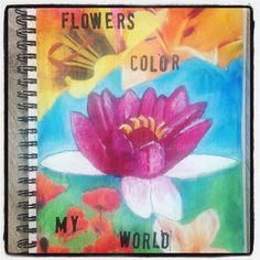 Flowers color my world, by M. Dommers-Slager
