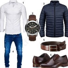 Elegant look with leather belt and Bugatti shoes – Source by theodorschulte Neue Outfits, Komplette Outfits, Casual Outfits, Fashion Outfits, Business Casual Attire For Men, Men's Business Outfits, Big Men Fashion, Dope Fashion, Elegantes Business Outfit