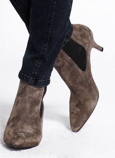 01e9ffe7512 8 Best kitten heel ankle boots images