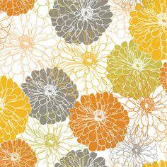 Blomma Blend Fabrics Flowers by MaddysFabricStash on Etsy