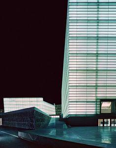 Kursaal Congress Centre and Auditorium, Donostia-San Sebastian Spain San Sebastian Spain, Basque Country, Facade Architecture, Skyscraper, Centre, Multi Story Building, Perforated Metal, Wineries, Gallery