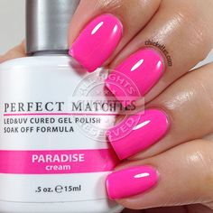 LeChat Perfect Match - Paradise - swatch by Chickettes.com