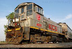RailPictures.Net Photo: KCS 4355 Kansas City Southern Railway EMD SW1500 at Kansas City, Missouri by Nick Smith