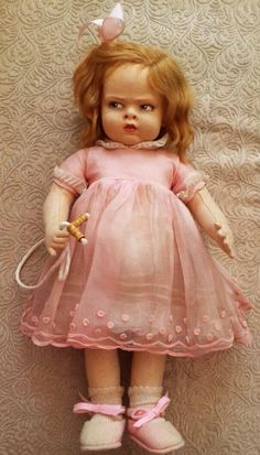 Grugnetto 'grumpy' Lenci antique doll