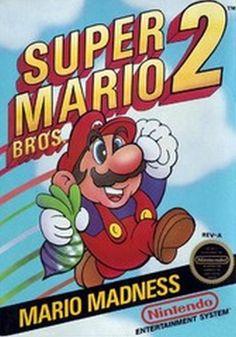 Super Mario Bros 2 NES 18 x 24 Video Game Poster by kitschaus Super Mario Bros, Super Mario Brothers, Super Nintendo, Nintendo Games, Arcade Games, Vintage Video Games, Classic Video Games, Retro Video Games, Retro Games