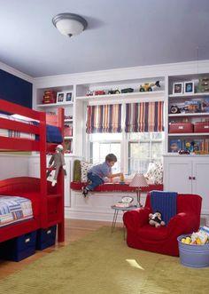 Boys room.