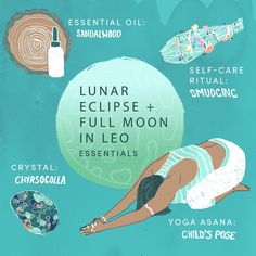 Consider this your Lunar Eclipse survival kit. (via @mindbodygreen)