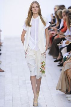 Chloé Spring 2012 Ready-to-Wear Fashion Show - Suvi Koponen (Next)