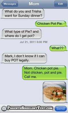 Chicken Pot Pie...are three of my favourite things... =)